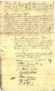 Petition to Stirling Town Council and the Cowane's Hospital Trust, 1739
