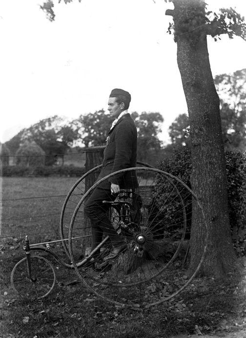 A perfectly ordinary velocipede c.1890