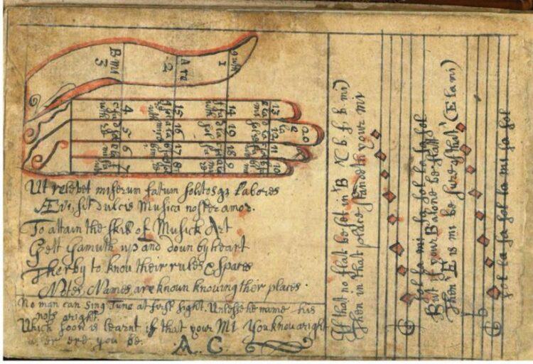 Dunblane Schoolmasters' commonplace book 17th century
