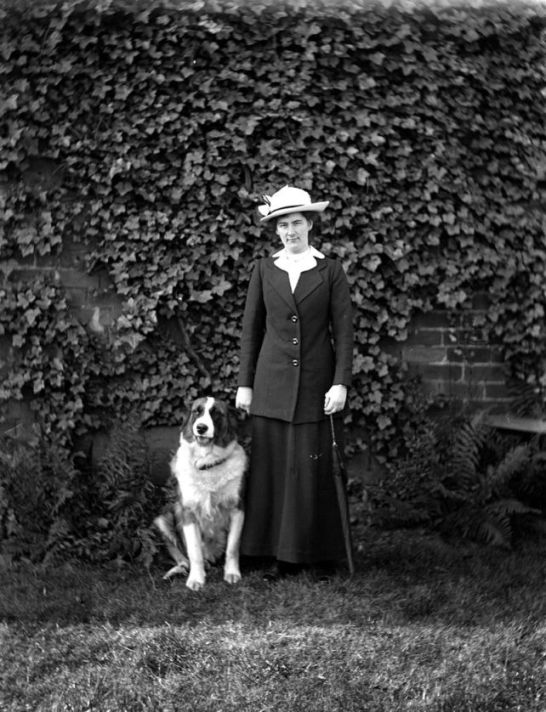 Walking the dog c.1910