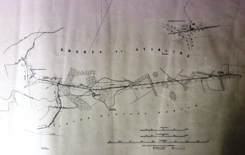 Touch reservoir 1847 works plan