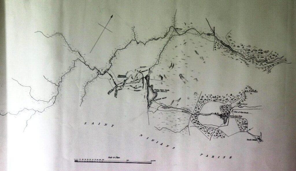 Touch reservoir 1863 works plan