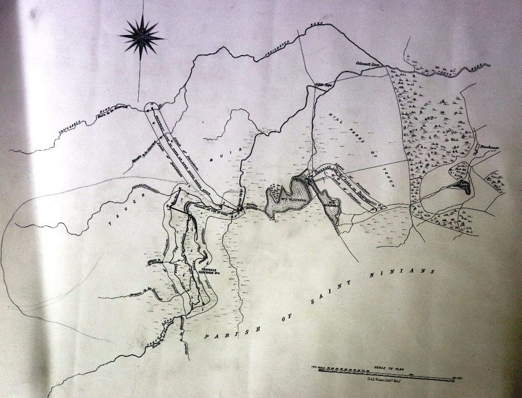 Touch reservoir 1881 works plan